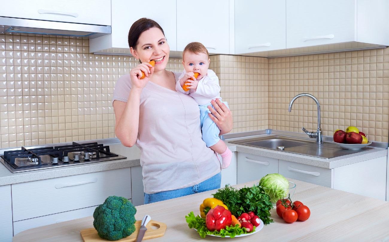 диета при грудном кормлении для похудения